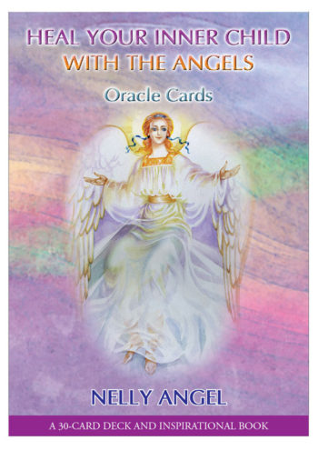 Angel Oracle Cards and inspirational book in English